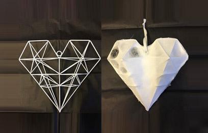 Fabrican design heart